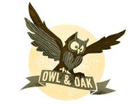 Owl & Oak Logo
