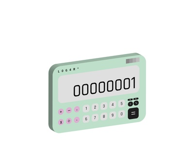 L0G4RD - Daily UI 03 calculator visualui uidesign dailyui03 dailyui