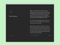 Swerl – Landing page
