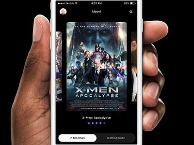 Moovi – iPhone App movie movies ios application interface ui app iphone