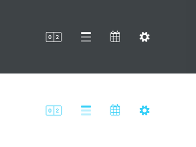 Soccer Icons cog settings calendar fixtures tables scores iconography ux ui icons football soccer