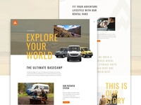 Adventure Wagon Website Redesign