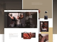 Orox Leather Co. Website