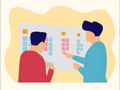 Failing to plan is planning to fail leftbrainillustrator belajardesign belajardataid belajardata illustratorotakkiri illustrator uidesign illustration ui flatcharacter flatdesign