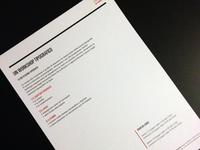 Typographic workshop II