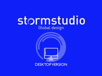 Stormstudio Desktop mobile first ui design website