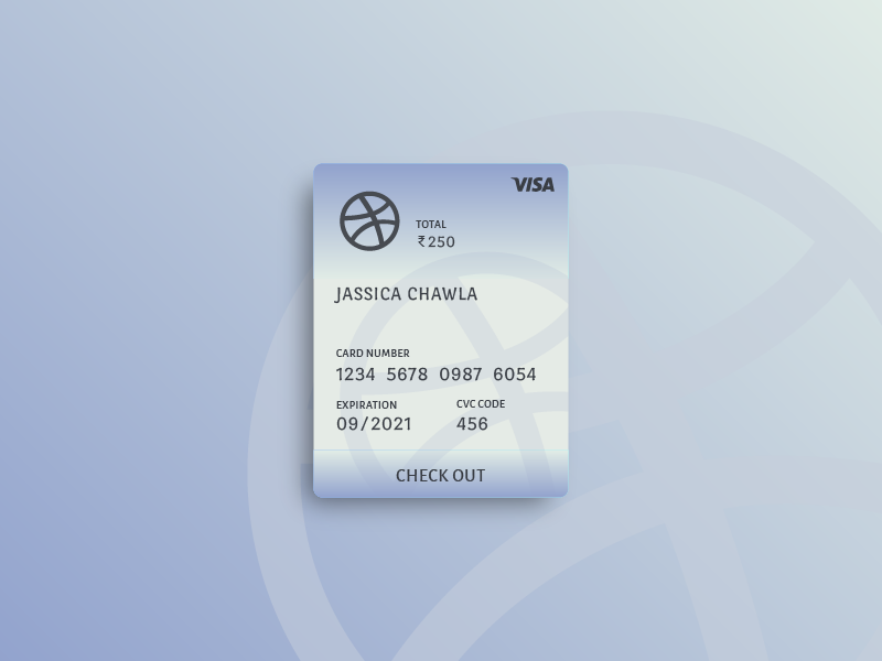 Playing with Gradients #2 layeout illustrator gradients design debit credit colors cards blue