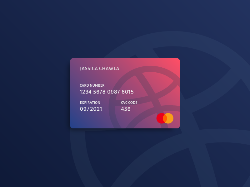 Playing with Gradients #3 layeout illustrator gradients design debit credit colors cards blue