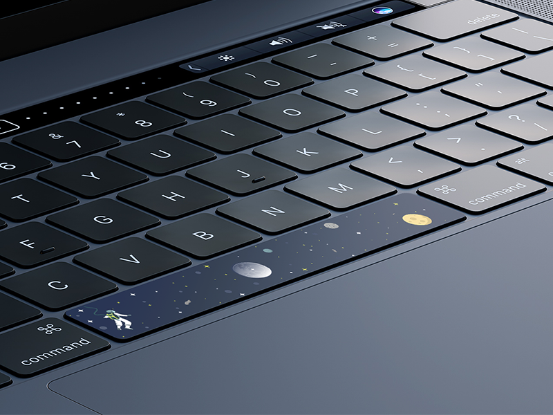 Macbook Pro Space Sticker astronaut space design sticker macbook pro macbook