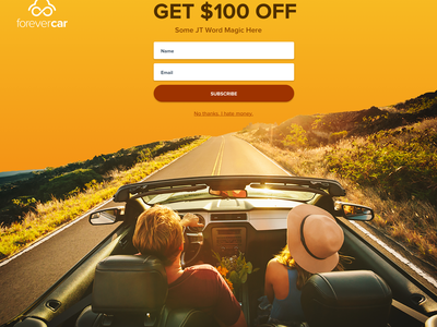 Exit Intent responsive photography discount discount code coupon popup landing page exit intent