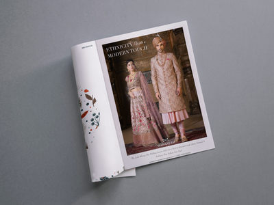 Magazine Advertisement | Fashion Brand magazine design magazine ad brand identity branding design