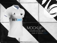 Swansea City - Home Kit Design