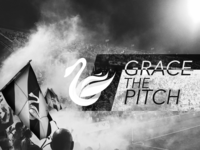 Grace The Pitch - Swansea City Poster