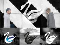 Alternative Swan Logo Designs