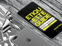 Regifting - App design mockup