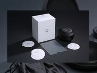 Muzik Rigid Box + Case + Documentation