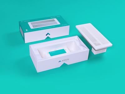 Keen Home Smart Vent Packaging