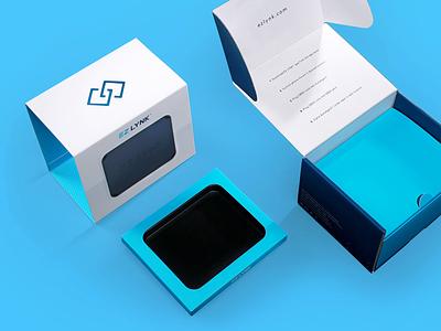Ez Lynk Packaging sleeve box corrugate tuner vehicle tech automotive branding packagedesign packaging