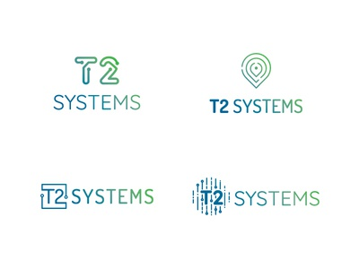 T2 Systems Logo Concepts