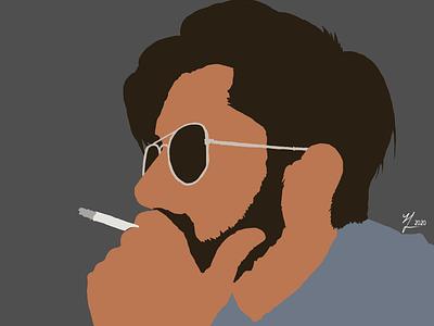 Study 3 (Basic) portrait art simple digitalart basic