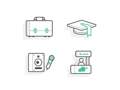 Zonifero — Company type icons