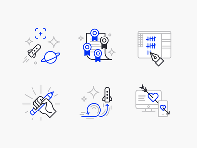 EX Team Icons illustrator line icon vector design web design illustration pattern geometric