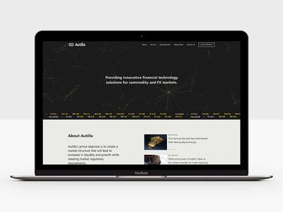 Autilla Landing Page