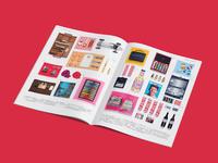 Conran christmas magazine spread
