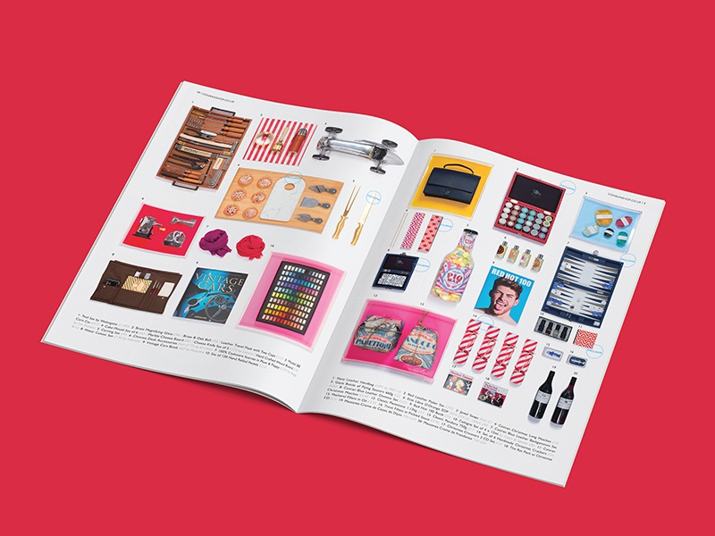 The Conran Shop, Feature Page saddle stitch retouch luxury london product design geometric brochure layout photography pattern editorial