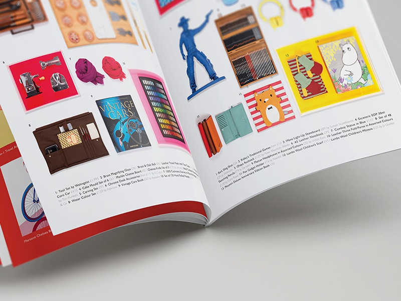 The Conran Shop Brochure saddle stitch retouch luxury london product design geometric brochure layout photography pattern editorial