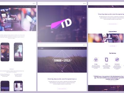 TENDIGI Rebrand and Redesign rebrand redesign tendigi mobile development ios development