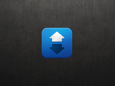 iOS App Icon Design: Upvote icon design app design app icon iphone app icon logo