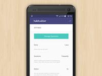 UI Update - Habitualizer
