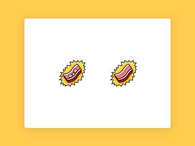 Twitch - Bacon emotes twitch creative twitch bacon emoticon illustration icon bacon icon