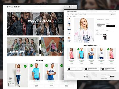 City fashion webdesign web ux ui page layout landing shop ecommerce fashion city street