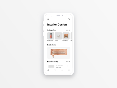 Minimalist Store app design ecommerce ui minimal
