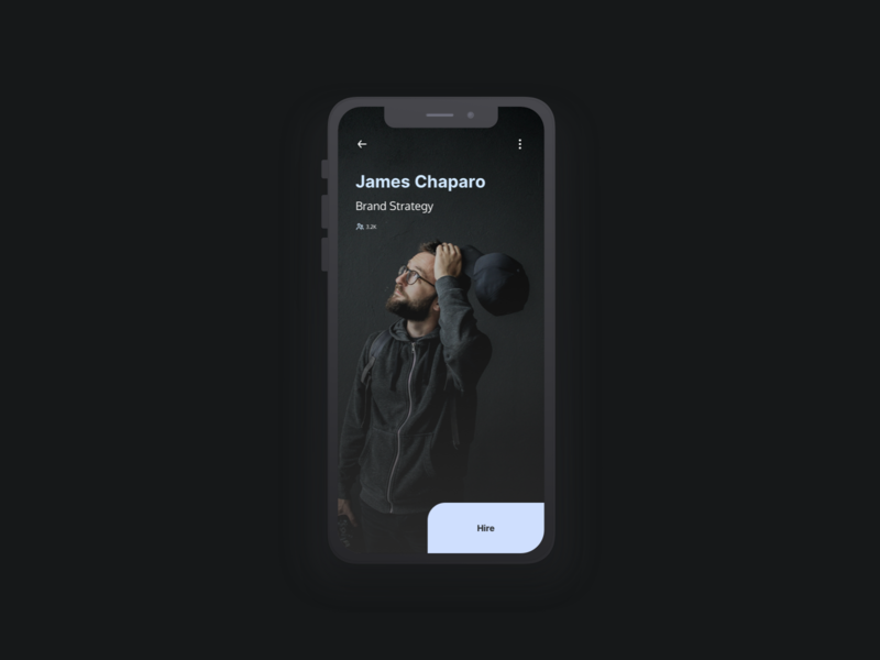 Freelancer App design app ui