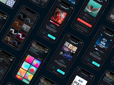 Typerium App design app ux design create app ui