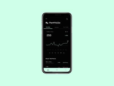 Social Trading App stocks trading app ui