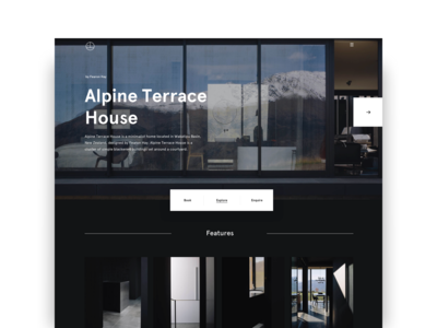 Alpine Terrace House