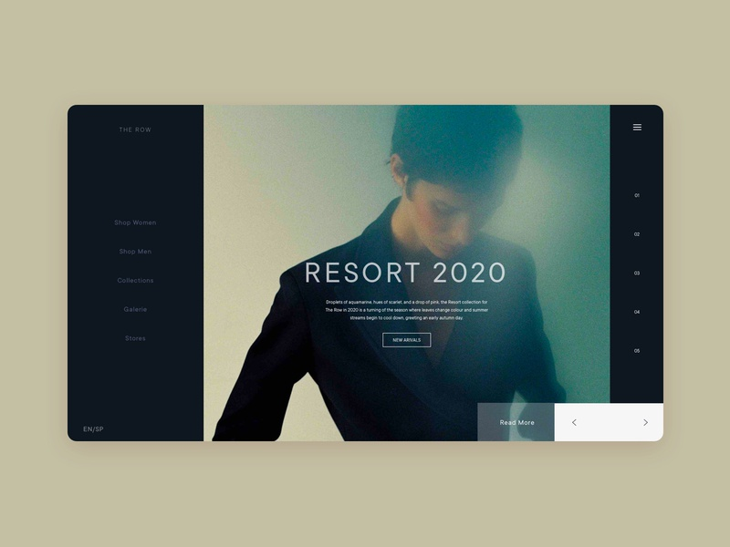 RESORT fashion ui