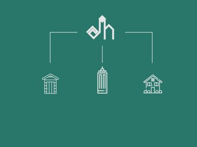 Amarat Hadhrmout logo Concept
