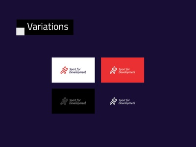 GIZ - Sport for Development logo and Brand - Logo Variations