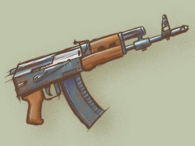 ak-47 47 ak weapon gun rifle russia