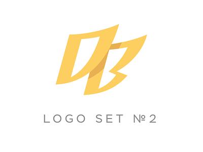 Logo set №2 set logotype logo