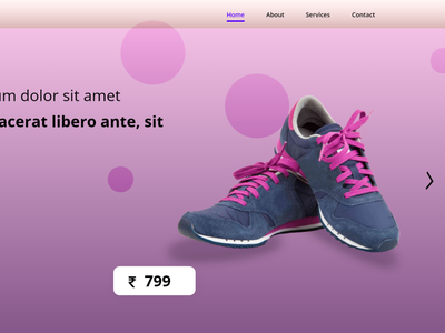 Shoes Landing page shoes design shoes store website hero section hero section purple design adobe xd website design website landing page landing page shoes landing page
