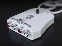 External USB Soundcard - 3D render