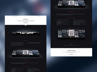Personal Portfolio #1 ui ux interface design web portfolio