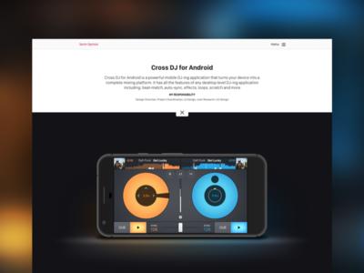 Personal Portfolio #2 portfolio contrast webdesign ux design ui