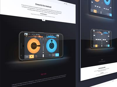 Personal Portfolio #3 shine web webdesign ux ui portfolio design contrast